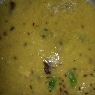 The tangy dal