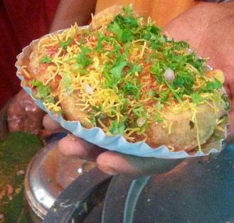 The all time favorite - Sev Batata puri!
