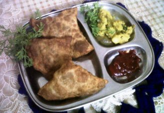 All time favorite: Samosas